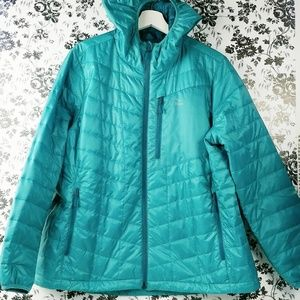 LL Bean Primaloft Packaway Jacket with hood XLP